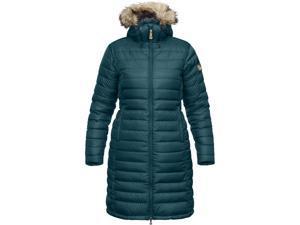 Fjallraven Outdoor Coat Womens Ovik Parka W XS Glacier Green F89736