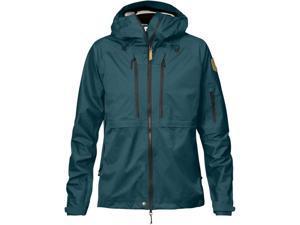 Fjallraven Outdoor Jacket Womens Eco-Shell L Glacier Green F89600