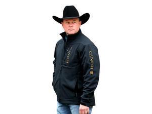 Cinch Western Jacket Mens Bonded Conceal Pocket XL Black MWJ1043004