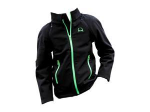 Cinch Western Jacket Boy Kid Bonded Zip Pockets Logo M Gray MWJ7480001