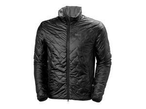 Helly Hansen Jacket Mens Vol Long Sleeve Zipper Pockets L Black 62680