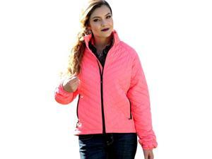 Cruel Girl Western Jacket Womens Down Packable XL Coral CWJ9503001