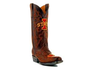Gameday Boots Mens Western Iowa State Cyclones 10 D Brass IOS-M051-1