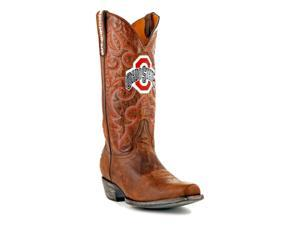 Gameday Boots Mens Western Ohio State Buckeyes 9.5 D Brass OST-M141-1