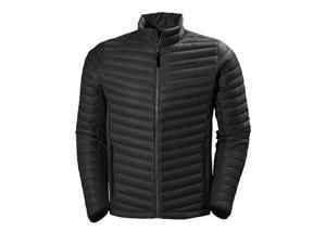 Helly Hansen Jacket Mens Verglas Long Sleeve Zip L Black 62681