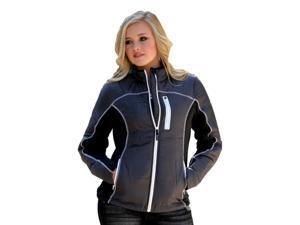 Cruel Girl Western Jacket Womens Quilted Fleece XL Charcoal CWJ9504001