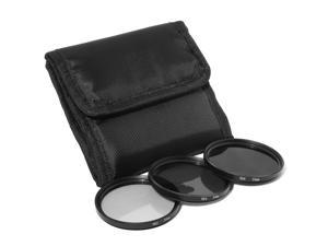 55mm Neutral Density ND2 + ND4 + ND8 Filter for Sony a290 a380 a390 18-55mm LF61