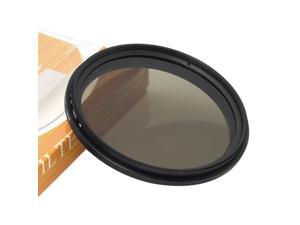 XCSOURCE® Slim 58mm Fader Variable ND Filter Neutral Density Adjustable ND2 to ND400 LF111