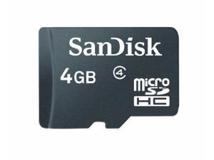 SanDisk 4GB Class 4 C4 MicroSDHC Card (Retail Package)