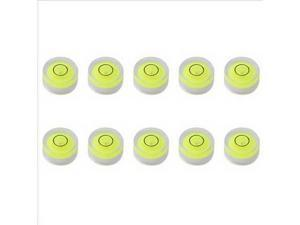 Xcsource® 10pcs 8mm Circular Bubble Level for Professional Measuring And Normal Use DC483