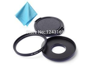 Xcsource® 52mm Filter Adapter Glass UV Lens + Protective Cap For GoPro Hero 3 3+ 4 LF325