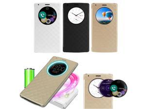 Other® Qi Wireless Quick Circle Charging Snap On Flip Case Cover Shell for LG G4 BC472/BC473/BC474
