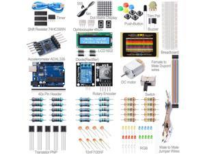 Xcsource® Basic Starter Kit Set UNO R3 Microcontroller Educator LCD