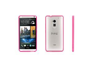 Griffin Reveal Clear Case with Pink Trim for HTC One® max   Our ultra-thin hard-shell case for your HTC One max.