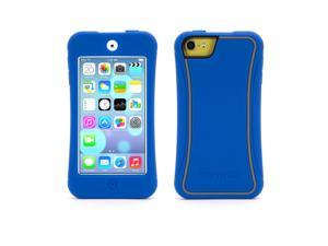 Blue with Grey Trim Survivor Slim for iPod touch (5th/ 6th gen.),Military-Spec Rugged Case Slimmed Down for the Street