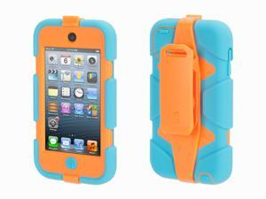 Griffin Turquoise/Orange Survivor All-Terrain Case + Belt Clip for iPod touch (5th/ 6th gen.)   Extreme-duty case