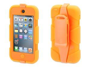 Griffin Neon Orange Survivor Case + Belt Clip for iPod touch (5th gen.)   Extreme-duty case