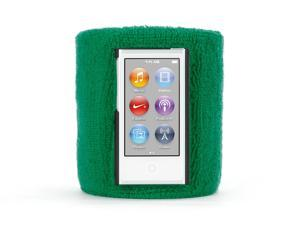 Griffin GB37260 SportCuff Wristband case, Absorbent wristband for iPod nano (7th gen.) - Green
