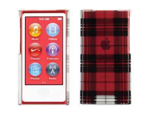 Exposed Plaid Transparent Case for iPod nano (7th gen.),Hard-shell transparent case with bold graphics