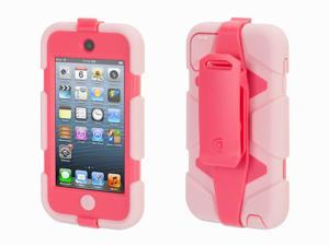 Griffin Pink/Hot Pink Survivor All-Terrain Case + Belt Clip for iPod touch (5th/ 6th gen.)   Extreme-duty case