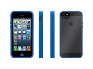 Reveal Protective Clear Case with Blue Trim for iPhone 5,Ultra-thin hard-shell case