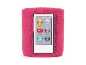 Pink SportCuff Wristband case for iPod nano (7th gen.),Absorbent wristband for iPod nano (7th gen.)