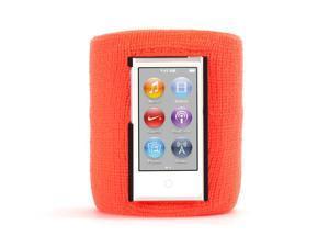 Orange SportCuff Wristband case for iPod nano (7th gen.),Absorbent wristband for iPod nano (7th gen.)