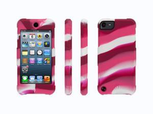 Griffin Survivor Skin for iPod touch (5th gen.), pink swirl   6-foot drop protection in a silicone skin.