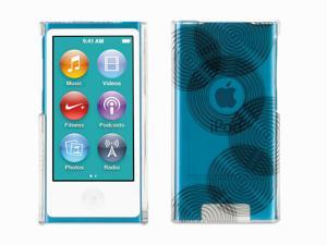 Exposed Circles Transparent Case for iPod nano (7th gen.),Hard-shell transparent case with bold graphics