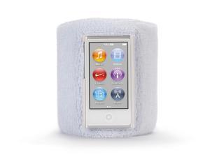 White SportCuff Wristband case for iPod nano (7th gen.),Absorbent wristband for iPod nano (7th gen.)