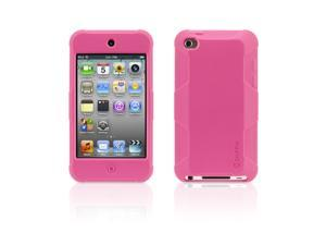 Griffin Survivor Skin for iPod touch (4th gen.), pink   6-foot drop protection in a silicone skin.