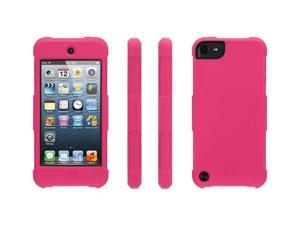 Survivor Skin for iPod touch (5th/ 6th gen.), hot pink,6-foot drop protection in a silicone skin.