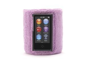 Griffin GB37258 SportCuff Wristband Case, Absorbent wristband for iPod nano (7th gen.) - Purple
