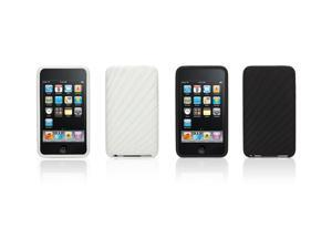 Griffin Trace 2-pack- case for iPod touch 2nd & 3rd gen.   Textured silicone for iPod touch 2nd & 3rd gen.