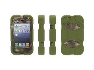 Treestand/Green Survivor All-Terrain Case in Mossy Oak Camo with Belt Clip for iPhone 4/4s,Military-Duty Case for iPhone 4/4s