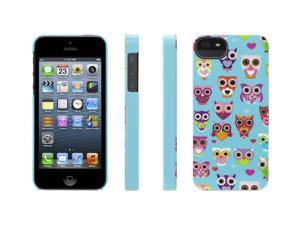 Griffin Turquoise/Pink Wise Eyes Hard Shell Owl Case for iPhone 5   Hard-shell case that gives a hoot