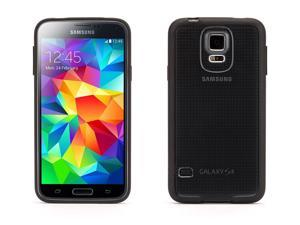 Reveal Clear Protective Case with Black Trim for Galaxy S5,Ultra-thin hard-shell Clear case