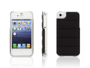 Black/ Clear Elan Form Flight Case for iPhone 4/4s,Cushioned hard-shell case for iPhone 44s