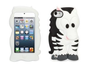 Zebra KaZoo Kids Case for iPod Touch 5th/ 6th gen.,Fun animal friends for iPod touch (5th gen)
