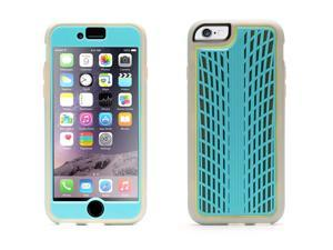 Turquoise Identity Performance Traction Case for iPhone 6/6s 4.7,Slim, dual-layer case protects your phone from 4' drops