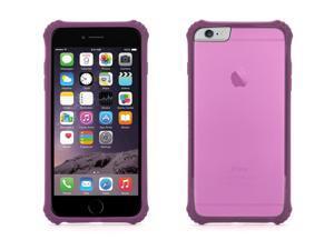 Griffin iPhone 6s Plus/6 Plus Survivor Core Clear Case - Polycarbonate Back - Purple Bumper,Sleek drop protection. Tough in the corners.