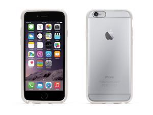 Griffin Reveal Clear Protective Case with White Trim for iPhone 6 4.7   Ultra-thin hard-shell case