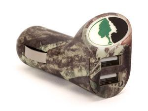 Mossy Oak® Car Charger, Dual USB Port,Charge your smartphone in your vehicle