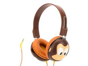 Griffin Volume-Limiting Monkey KaZoo MyPhones Headphones   Over the Ear Headphones for Kids