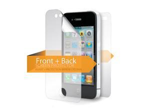 Self Healing TotalGuard Screen Protector for iPhone 4/4s,Front/back protection for iPhone 4