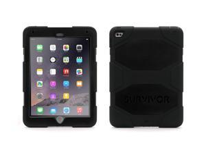 Griffin iPad Air 2 Rugged Case, Survivor All-Terrain Case + Stand, Black   Impact Resistant, Real-World Proven Protection