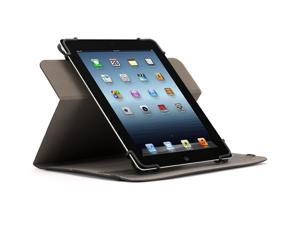 """Black Multi Positional TurnFolio for Large to Extra Large-sized Tablets,Rotating case and a custom fit for your 9-10"""" tablet"""