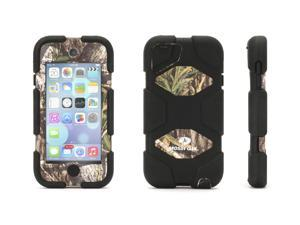 Griffin Obsession/Black Survivor All-Terrain in Mossy Oak Camo for iPod touch (5th/ 6th gen.)   Military-Duty Case for iPod touch plus Stand