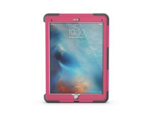 iPad Pro 12.9 Case- Pink/Grey Survivor Slim Protective Case + Stand,The drop protection of original Survivor, slimmed down