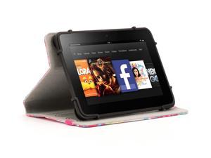 "Coral Multi Positional TurnFolio for Small to Medium-sized Tablets,Rotating case and a custom fit for your 7-8"" tablet"